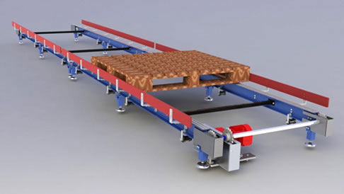 Chain conveyors image.