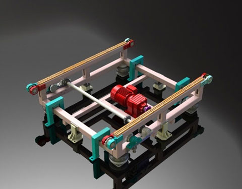 Roller conveyors image.